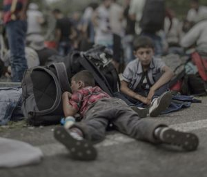 Theology disrupted by the challenge of refugee children
